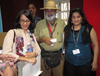 Priyanka raina, Shabanam and Ravindra Arora