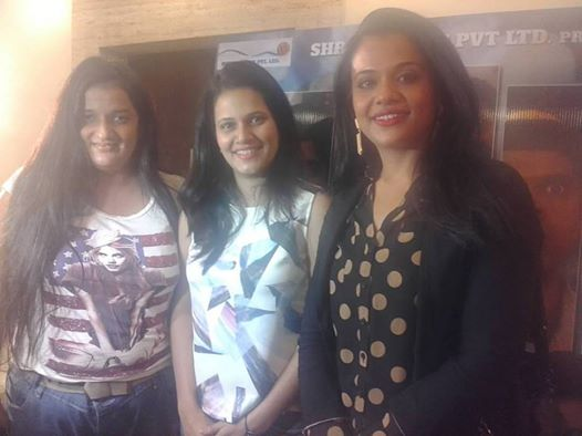 Priyanka Raina with Manva Naik and Vrinda
