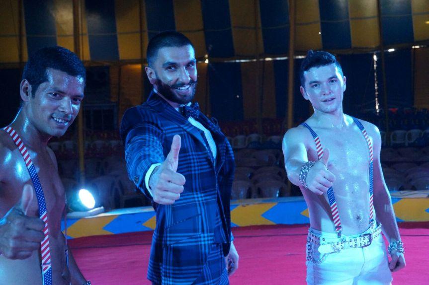 Ranvir Singh With Rambo Circus Artist 4
