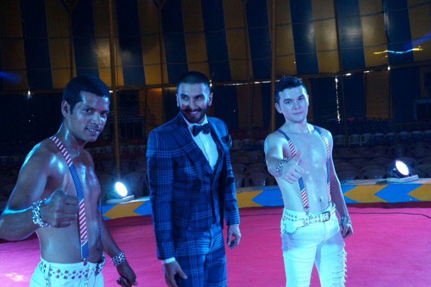 Ranvir Singh with Rambo Circus Artist