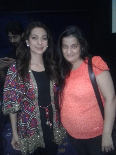 Juhi Chawla , Priyanka Raina