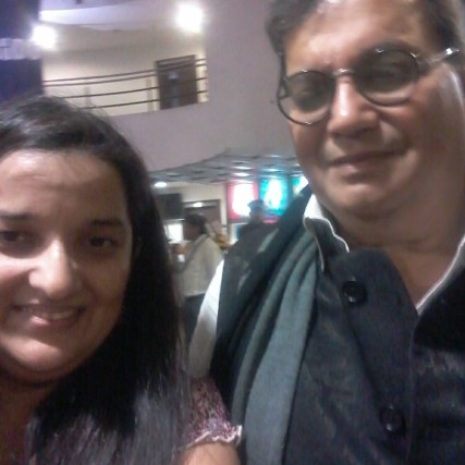 Selfie with Subhash Ghai Sir on Birthday