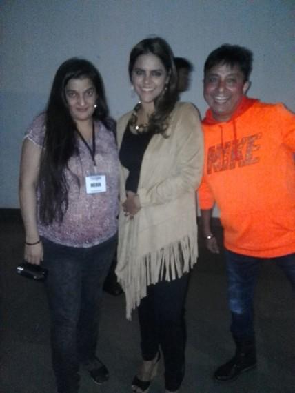 Megha Ghai, Priyanka Raina and Sukhwinder Singh