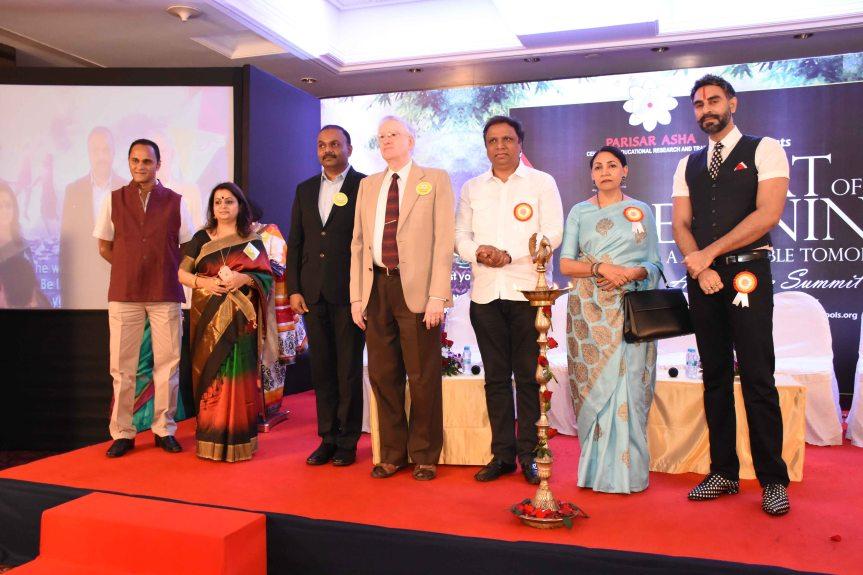 Sandip Soparrkar, Ashish Shelar and Aarti Savur