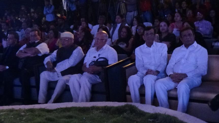 Subhash Ghai, Rajkumar Barjatya and ABBAS MASTAN