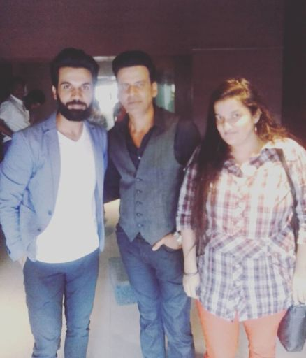 Manoj Bajpai, Rajkumar Rao and Priyanka Raina