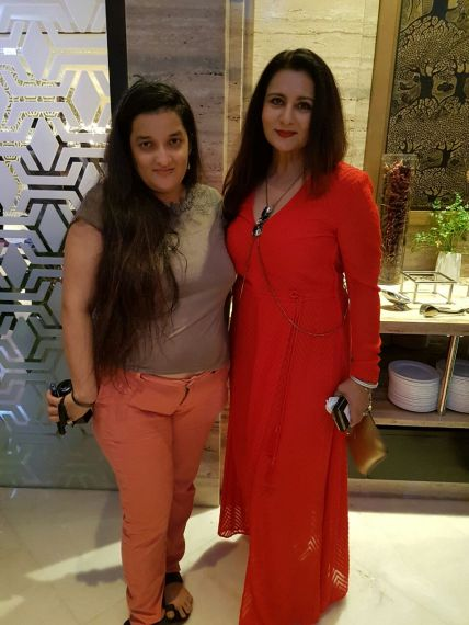 Poonam Dhillon, Priyanka Raina at SAVVY HONOURS