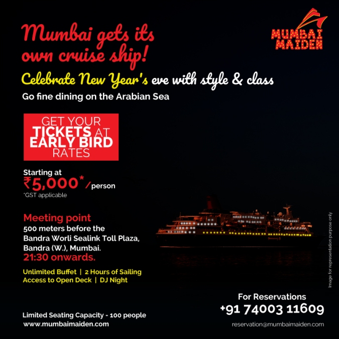 Mumbai Maiden NYE Cruise Party
