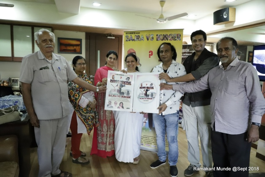 Bajra vs Burger DVD launch by Brahmakumari and Jyoti Venkatesh alomg with cast & crew
