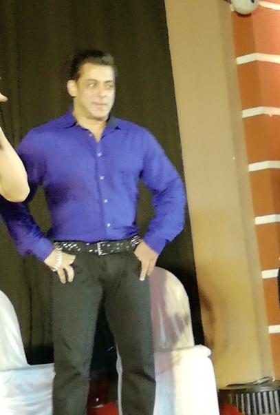 Salman Khan - Pix by PR