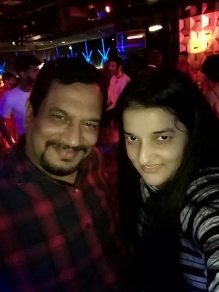 Priyanka Raina ad Parag Chappekar