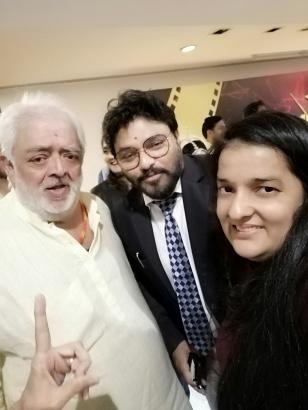 Rahul Rawail, Babbul Supriyo , Priyanka Raina